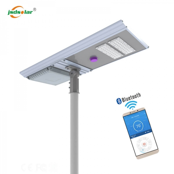 Outdoor 60w Solar Led Street Light All In One