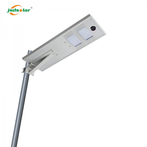 Outdoor Led Integrated Solar Street Light With Sensor