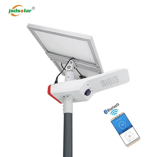 Split Led Solar Street Light With Inbuilt Batteries
